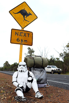 Star Wars Fundraising, Stormtrooper charity