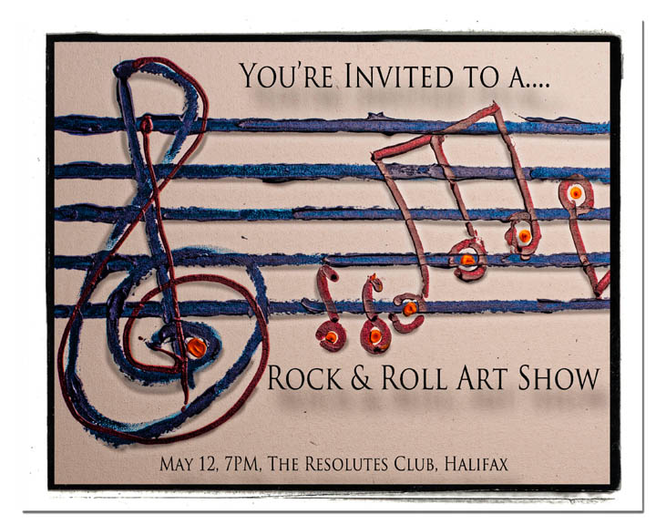 Rock and Roll Art Show